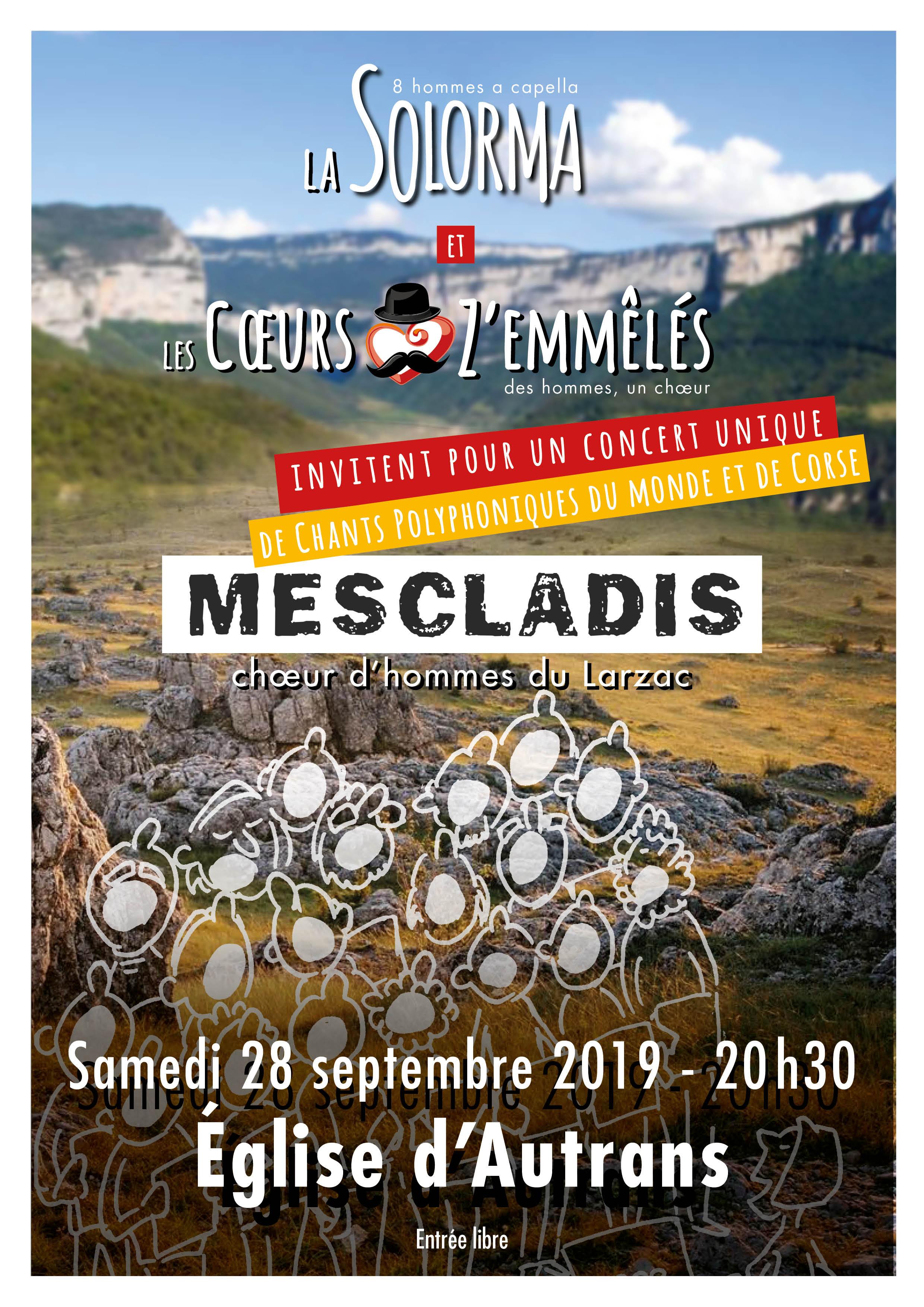 Affiche autrans-Mescladi-Solorma-Zemmeles-sept2019 jpg